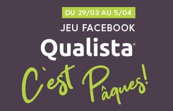 Jeu concours Facebook de Pâques Qualista